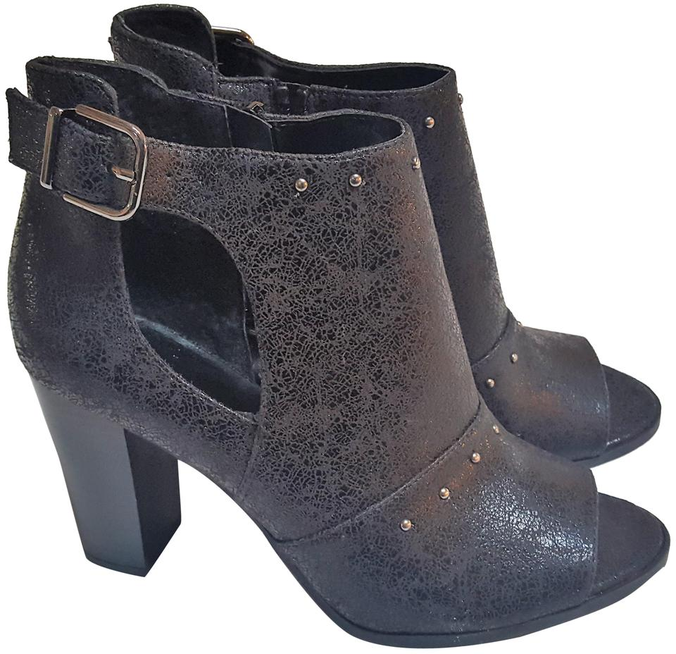 c42dbc2641c Simply Vera Vera Wang Black Bologna Women s Ankle Boots Booties Size ...