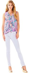 Lilly Pulitzer Purple Skinny Jeans