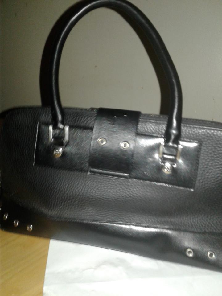 Boston Mini Black Dior Satchel Leather PYXqPFR