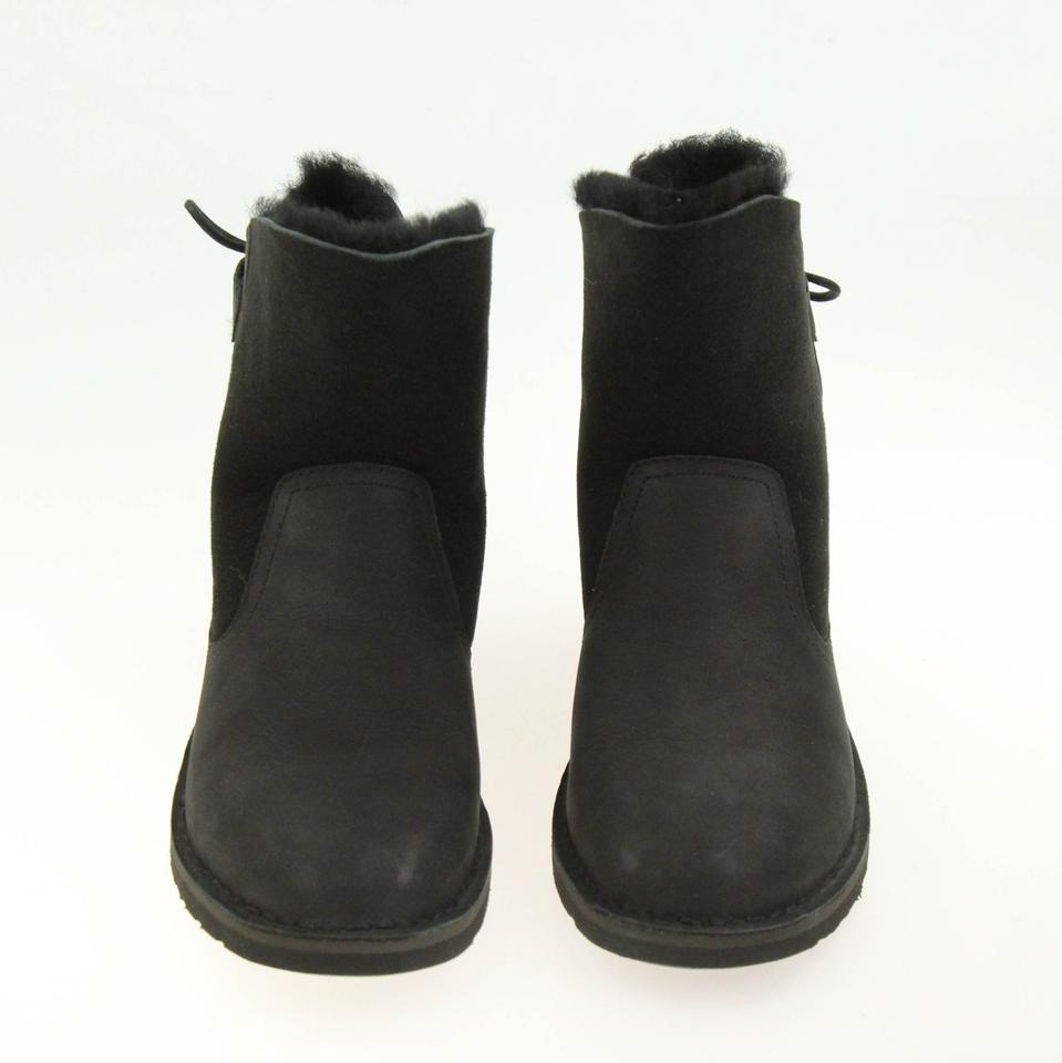 5ca7be009cf UGG Australia Black Naiah Uggpure Lined Ankle Boots/Booties Size US ...