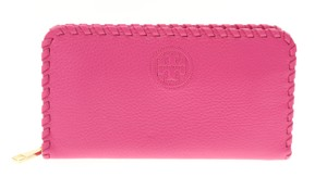 Tory Burch Marion Multi Gusset Continental Zip Around Leather Wallet
