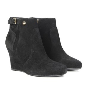 Tory Burch Reva 6.5 Black Boots
