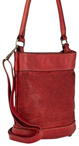 Campomaggi Woven Handmade Made In Italy Bucket Shoulder Bag