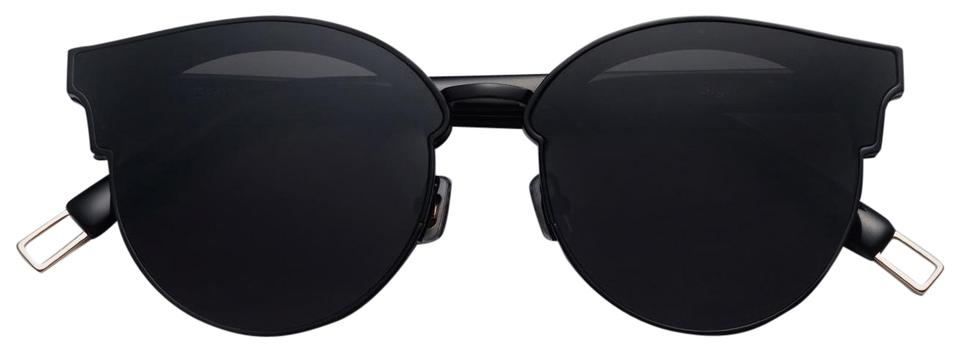 4757965385 Gentle Monster Black Sign Of Two Sunglasses - Tradesy