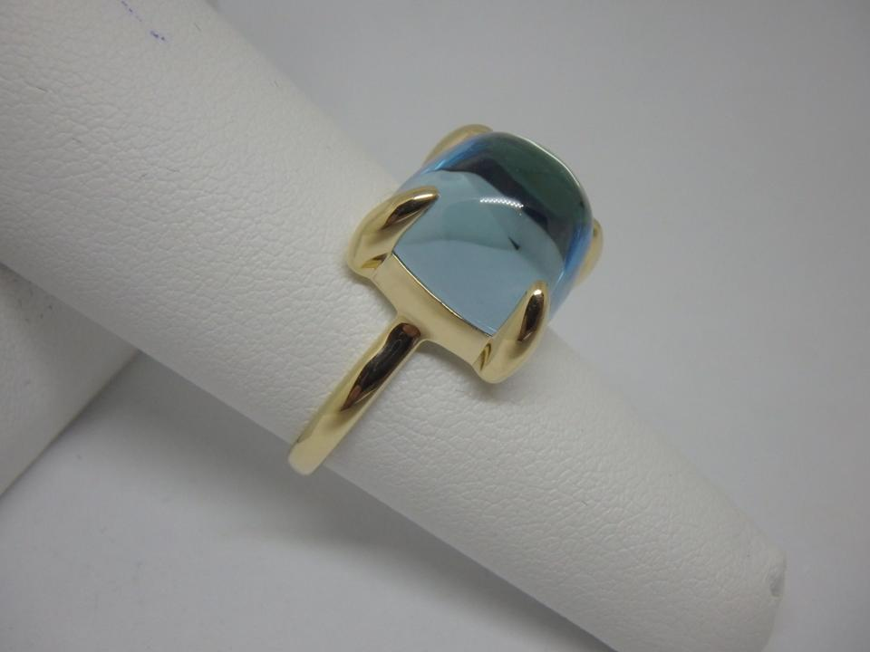 c977d2357 Tiffany & Co. Aquamarine and 18k Yellow Gold Rare Paloma Picasso ...