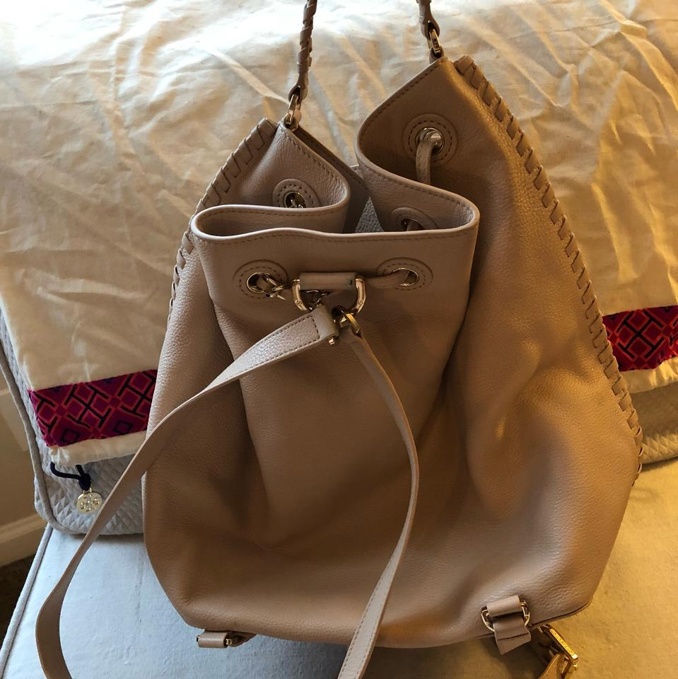 Bucket Tory Oak Burch Marion Backpack Light Leather Fq0Eq