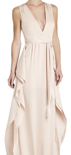 Item - Nude Suzanne Long Formal Dress Size 2 (XS)