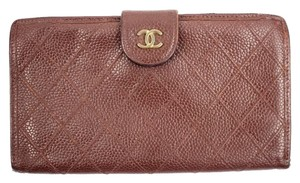 Chanel Quilted Caviar Wallet CCWLM31 78CCA609