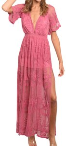 Pink Maxi Dress by Honey Punch