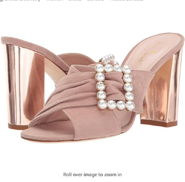 Item - Fawn Pink Diane Mules/Slides Size US 6 Regular (M, B)