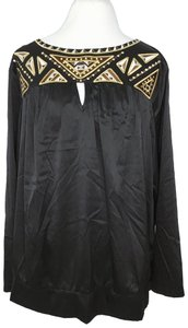Bob Mackie Top Black