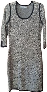 Marc New York Sheath Quarter Sleeves Print Dress