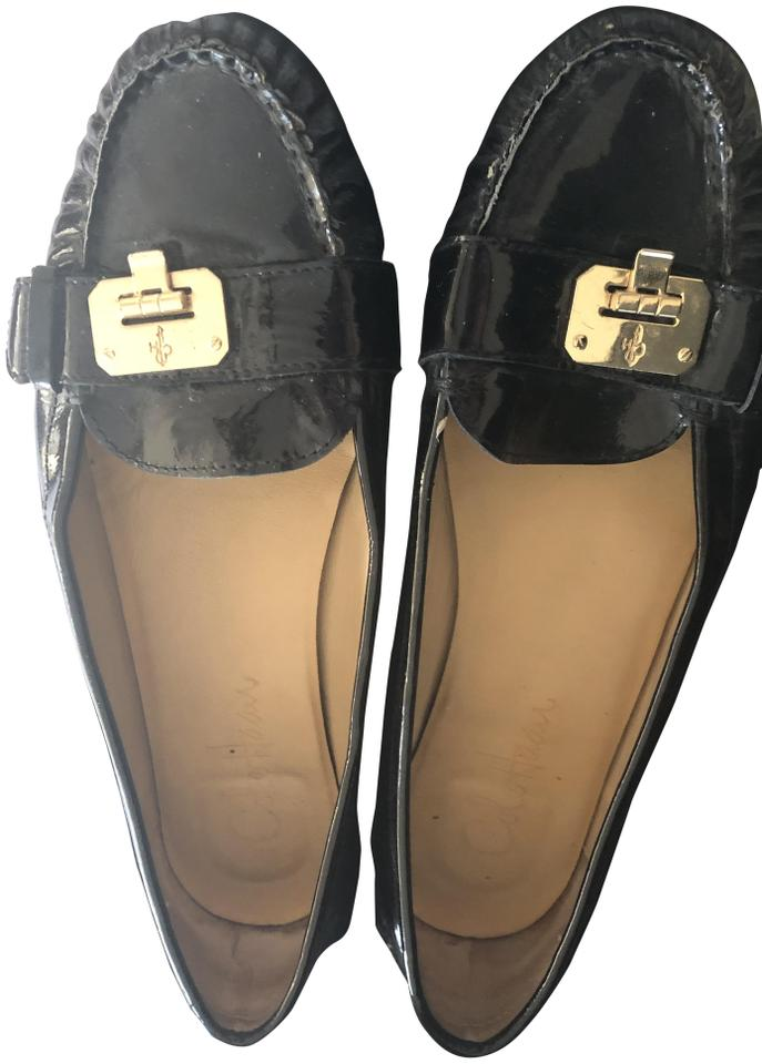 Cole Haan Patent Nike Flats Loafers Black 7RwrqP7