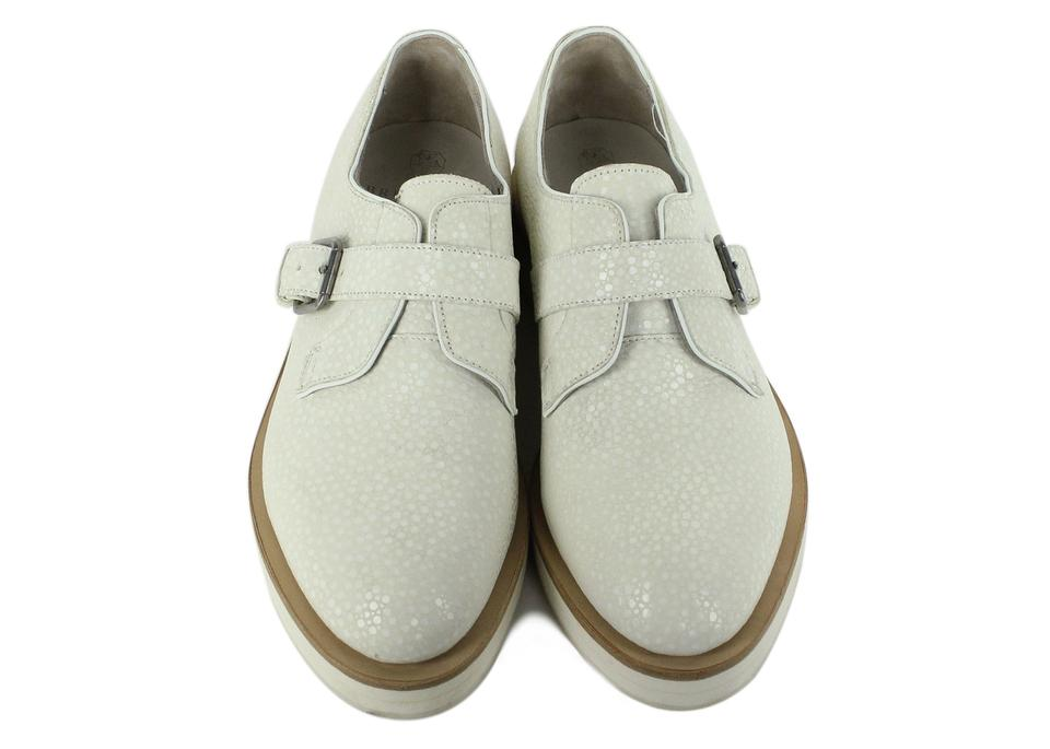 Flats Ivory Cucinelli Oxfords Buckle Suede Brunello Dotted xvYq4w5a