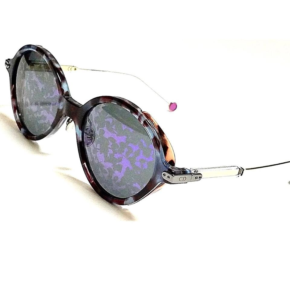 00437a8065c6c Dior Blue Violet Havana Leaves Umbrage Sunglasses - Tradesy