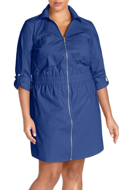 MICHAEL Michael Kors Shirtdress Cotton Dress Image 2