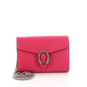 3b8ce20c31cf Gucci Chain Wallet Dionysus With Embellished Detail Small Pink ...