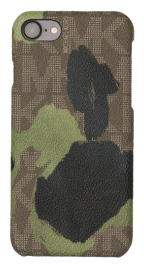 Preload https://img-static.tradesy.com/item/23730425/michael-kors-brown-green-camo-iphone-78-case-smart-phone-cover-in-box-tech-accessory-0-1-540-540.jpg