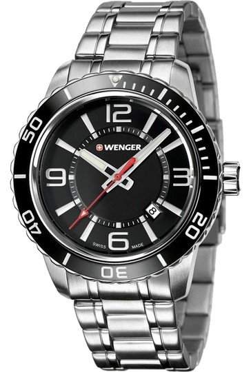 Preload https://img-static.tradesy.com/item/23730582/wenger-010851118-roadster-men-s-silver-steel-band-with-black-analog-watch-0-1-540-540.jpg
