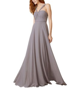 Amsale Dove Flat Chiffon Style: Cerisa Gb033f Formal Bridesmaid/Mob Dress Size 6 (S)