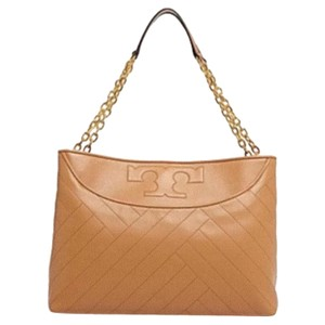 Tory Burch Tote in Aged Vachetta/tan