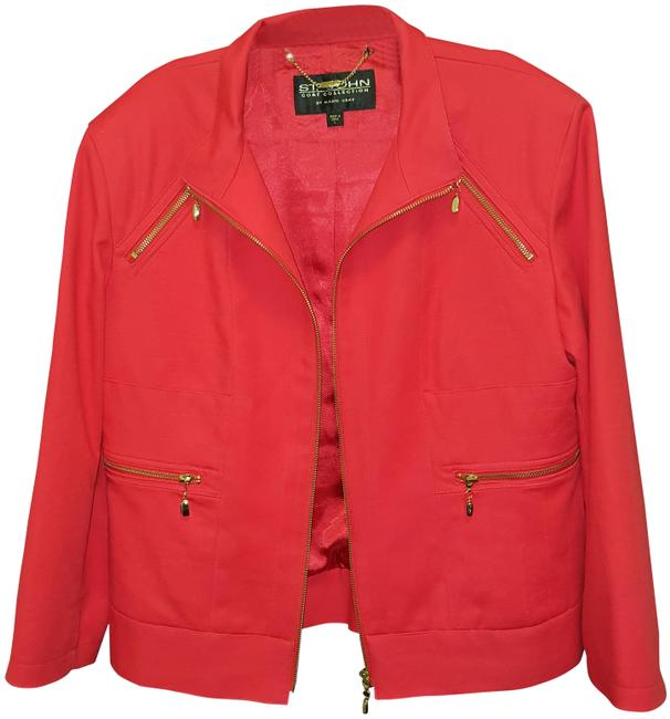 Item - Red Coat Collection By Marie Gray Jacket Size 12 (L)