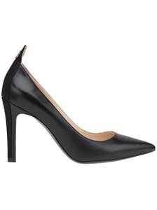 Fendi Pumps Leather 38.5 Black Platforms