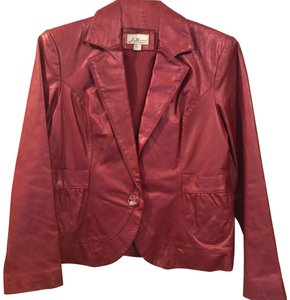 J Marco Pink Leather Jacket