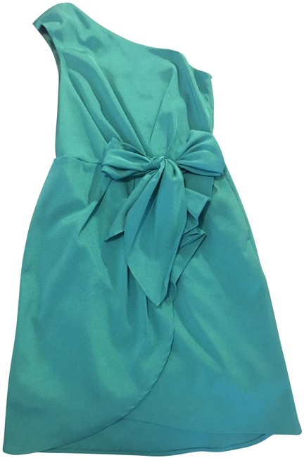 Item - Light Blue Mid-length Cocktail Dress Size 0 (XS)