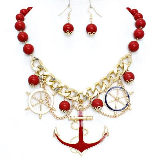 Preload https://img-static.tradesy.com/item/23731267/red-gold-anchor-pendant-beachlife-charm-chain-necklace-0-1-540-540.jpg