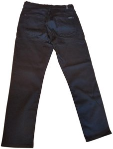 7 For All Mankind Stretchy Straight Leg Jeans-Dark Rinse