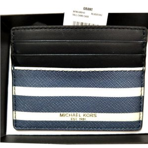 Michael Kors Michael kors Grant jet set tall Card Case holder gift box Holder