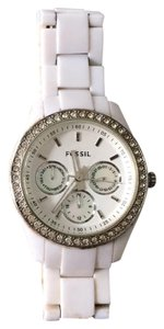 Fossil stainless steel rhinestone face #112801