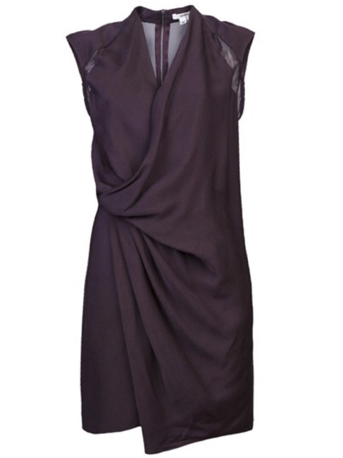 Preload https://img-static.tradesy.com/item/23731795/helmut-lang-purple-pleat-wrap-mid-length-cocktail-dress-size-2-xs-0-0-650-650.jpg