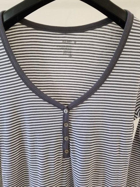 Old Navy Women Clothing Polo T-shirt T Shirt Gray Image 1