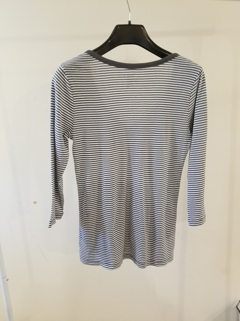 Old Navy Women Clothing Polo T-shirt T Shirt Gray Image 2