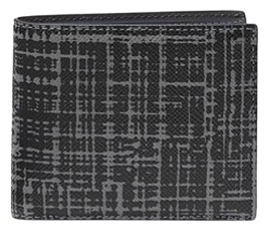 Michael Kors Michael Kors Harrison Crosshatch Leather RFID Billfold Wallet w box Image 0