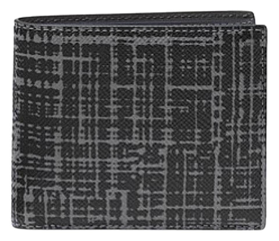 95fe868def57 Michael Kors Michael Kors Harrison Crosshatch Leather RFID Billfold Wallet  w box Image 0 ...