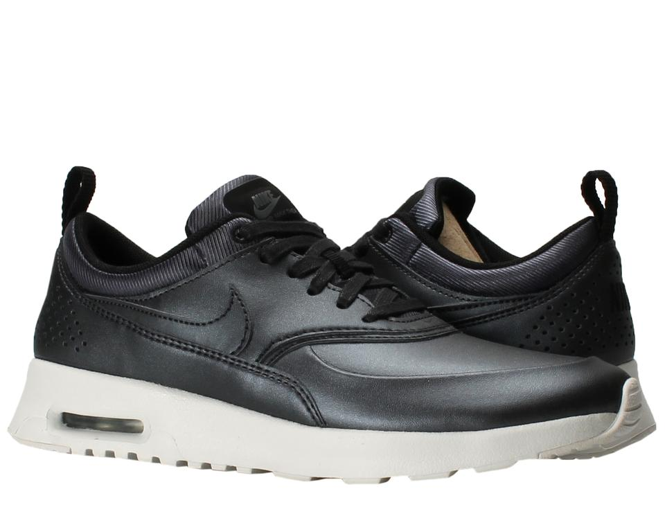 Nike Navy Metallic Women's (861674-002) Air Max Thea Se (861674-002) Women's In Hematite Sneakers a952f2