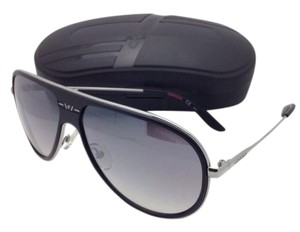 2482a2f4c96 Carrera New Sunglasses CARRERA 87 S ZA1IC 62-13 Silver   Black Aviator w