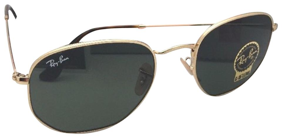a1c9016935 Ray-Ban New Hexagonal Rb 3548-n 001 54-21 145 Gold Frame W  G15 ...