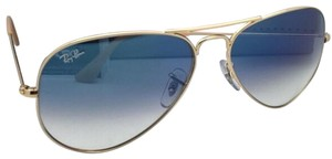 Ray-Ban New Ray-Ban Sunglasses Aviator Large Metal RB 3025 001/3F 55-14 Gold F