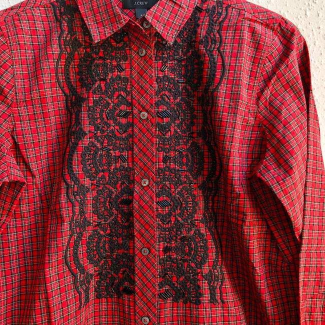 J.Crew Button Down Shirt red Image 4