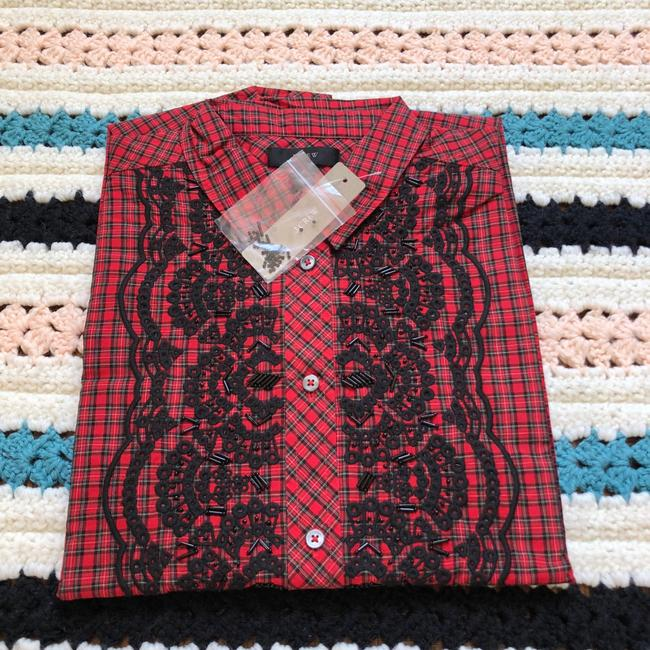 J.Crew Button Down Shirt red Image 5