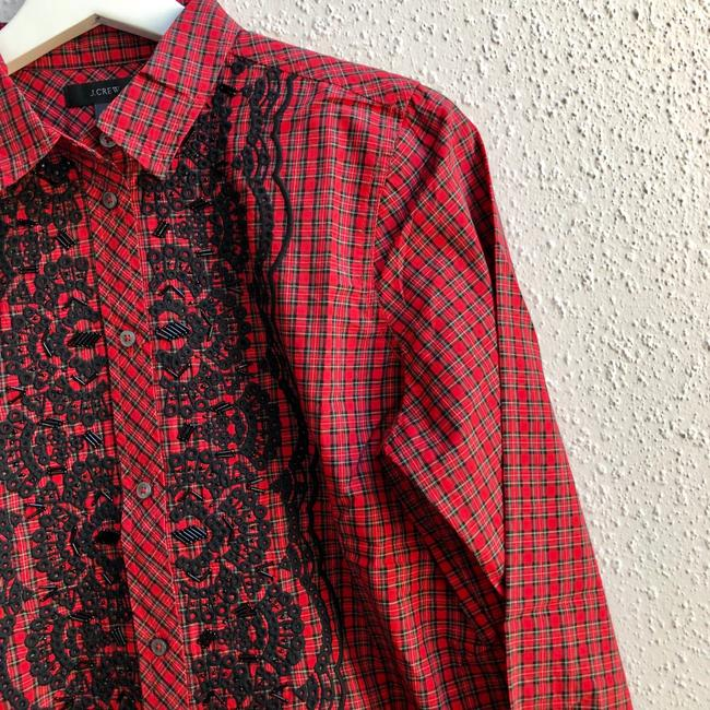 J.Crew Button Down Shirt red Image 6