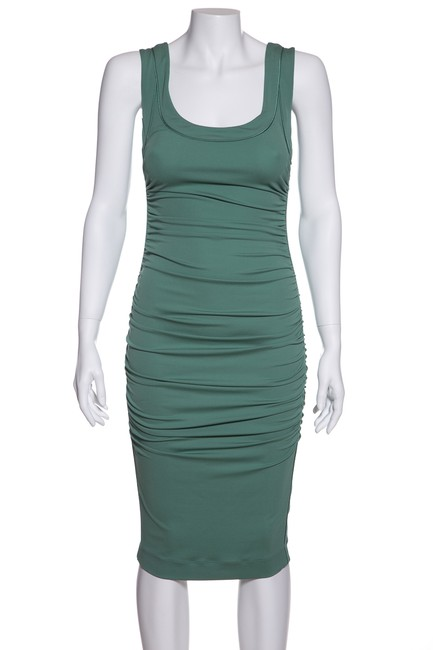 Preload https://img-static.tradesy.com/item/23732632/dolce-and-gabbana-mint-green-dolce-and-gabbana-stretch-knit-short-casual-dress-size-2-xs-0-0-650-650.jpg