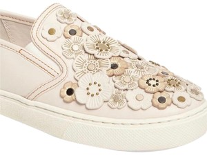 Coach Tea Rose Sneakers Floral Sneakers Flower Sneakers Tea Rose Sneakers Chalk C115 Flats