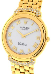 Rolex Rolex 6623 Diamond Cellini 18k Yellow Gold Ladies Watch