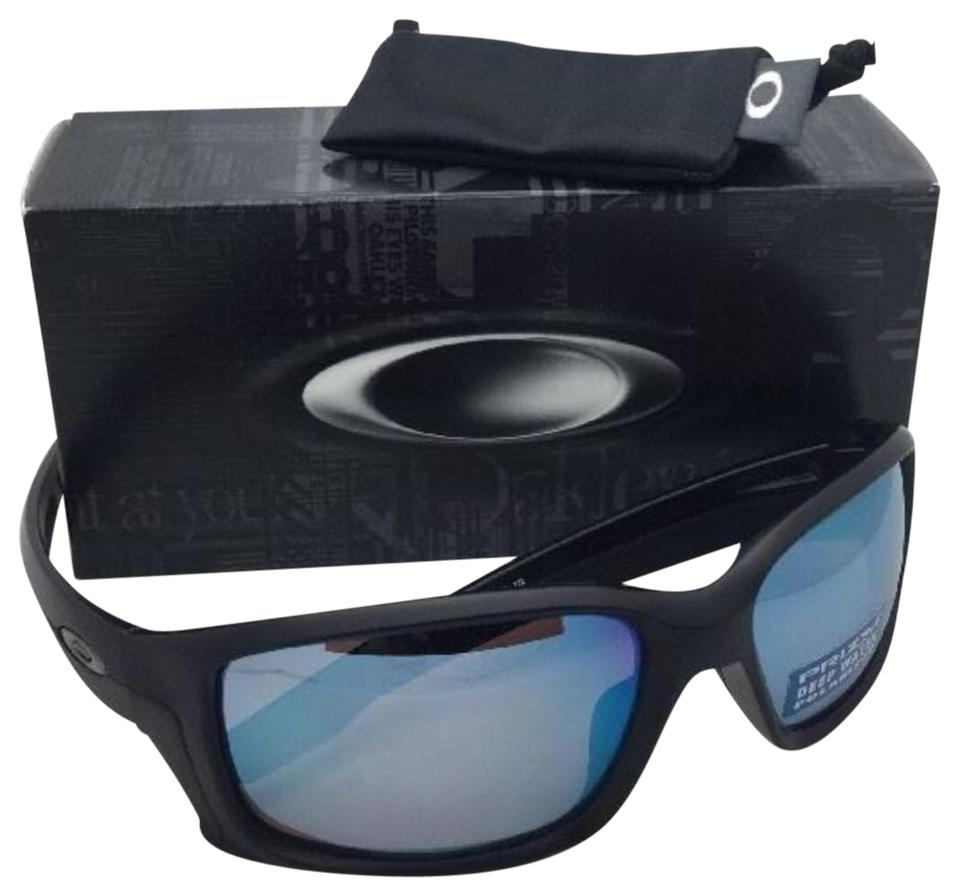 9679abb3e7 Oakley Polarized OAKLEY Sunglasses STRAIGHTLINK OO9331-05 Black w PRIZM  Water Image 0 ...