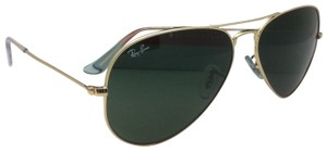 Ray-Ban Ray-Ban Sunglasses RB 3025 L0205 58-14 LARGE METAL Gold Aviator w/G-15